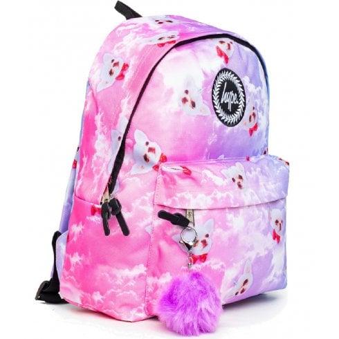 Hype Penelope Skies Dog Print Backpack