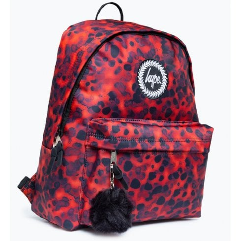 Hype Tortoise Shell Orange Black Backpack
