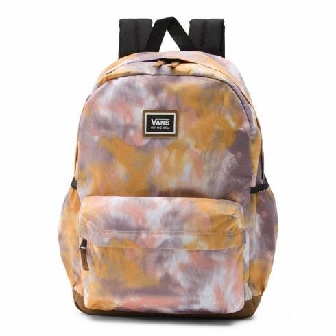 Vans Black Sporty Realm Plus Backpack - Golden Tie Dye