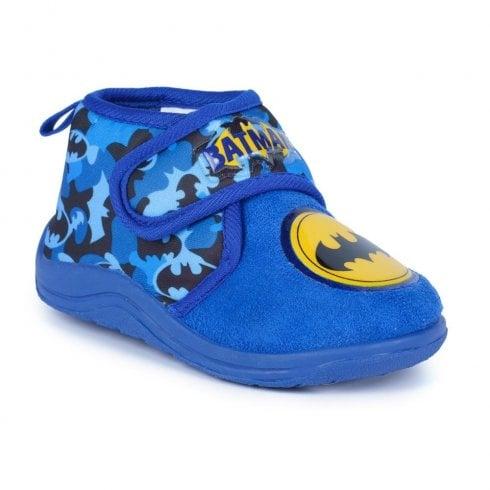Lunar Batman Slippers - Blue