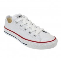 Junior White All Star Lo Ox Unisex