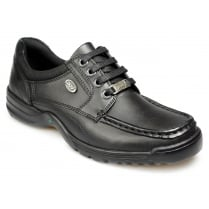 POD Scout Leather Black Shoes