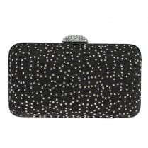 Lunar Womens Destiny/Margo Black Clutch Bag