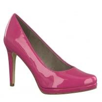 Tamaris Womens Fuchsia Stiletto High Heels