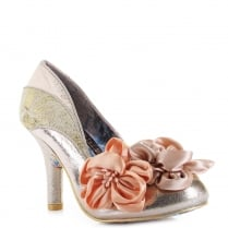 Irregular Choice Peach Melba Rose Gold