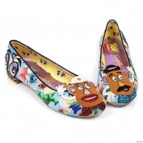 Irregular Choice Keep Em Together Flats