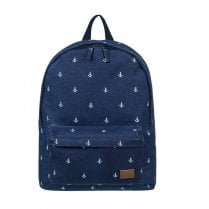 Roxy Sugar Baby Canvas Backpack 16L - Navy Blue