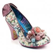 Irregular Choice Be Yourself High Heels - Blue/Pink