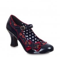 Ruby Shoo Camilla Mary Jane Shoes - Navy