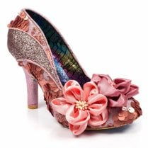 Irregular Choice Peach Melba Heels - Pink
