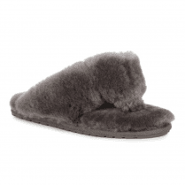 EMU Tova - Charcoal Grey Toe Post Slippers