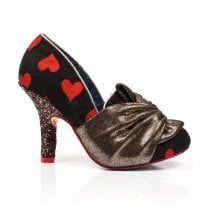 Irregular Choice - Ooh La La High Heels - Red/Gold