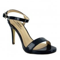 Menbur Italia3 Strappy Stiletto Sandals - Black