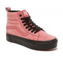 Vans Womens Suede Sk8-Hi Platform MTE Shoes - Desert Rose