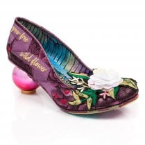 Irregular Choice - Grow Free High Heels - Purple