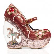 Irregular Choice Carol Sell - Gold