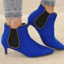 Millie & Co Brighton Ankle Boot - Blue