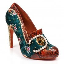 Irregular Choice - Poetic License - Velvet Pearl  - Teal