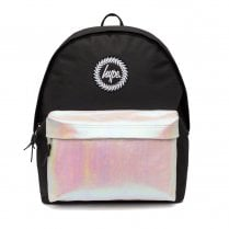 Hype Black/Multi Pearlescent Pocket Backpack