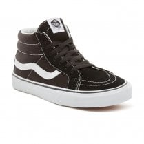 Vans Mens Sk8-Mid Reissue Hi Top Sneakers Shoes - Black/White
