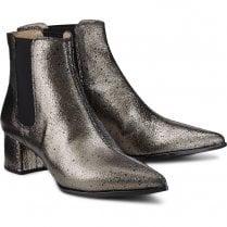 Unisa Jiste Metallic Chelsea Ankle Boots