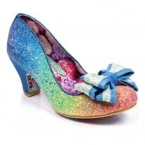 Irregular Choice Lady Ban Joe - Blue Rainbow