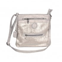 Rieker Shoulder Strap Medium Bag - Silver Gold Metallic H1302-60