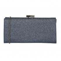 Lotus Vibe Glitz Occasion Clutch Bag - Navy