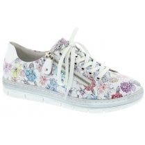 Remonte D5800-93 Ladies Multi Colour Floral Casual Shoes