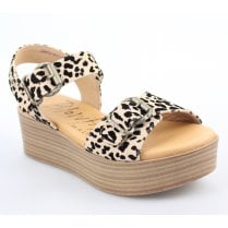 Blowfish Leeds Vegan Sandal - Leopard