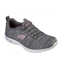 Skechers Womens Relaxed Fit: Empire D'Lux 12820 Sneakers - Grey