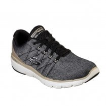 Skechers Mens Flex Advantage 3.0 Stally 52957 Sneakers - Black