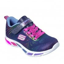 Skechers Girls S Lights: Litebeams Gleam N' Dream 10959L Sneakers - Navy
