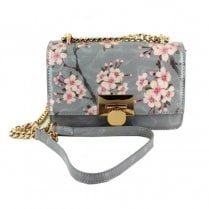 Menbur Versa Small Clutch Bag - Grey Floral 84578