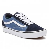 Vans Unisex Comfycush Old Skool Sneakers - Navy/Stv Navy