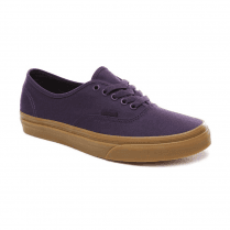 Vans Mens Authentic Low Top Trainers - Mysterioso/Gum