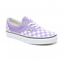Vans Womens Checkerboard Era Sneakers - Violet Tulip/True White