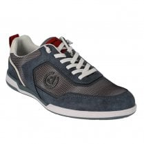 Bugatti Mens Solar Blue Lace Up Casual Sneakers Shoes - 321-73202