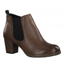 Marco Tozzi Womens Block Heeled Ankle Boots
