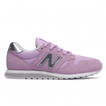 New Balance Womens 520 Lavender Suede Sneakers - WL520CL