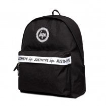 Hype Black Double Script Taping Backpack -