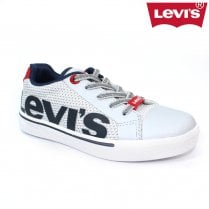 Levi's Kids Future Mega Trainer Shoes - White/Navy
