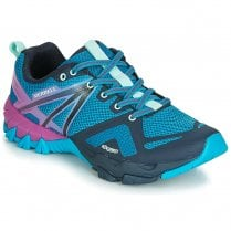 Merrell Women's MQM Flex GTX Waterproof Hiking Shoes - Blue/Purple J19648