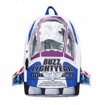 Hype Disney Buzz Lightyear 18L Backpack - White Blue 007