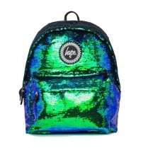 Hype Mermaid Reversible Green Sequin Backpack BTS19055