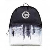 Hype WhiteBlack Mono Drips Backpack SS18BAG-007