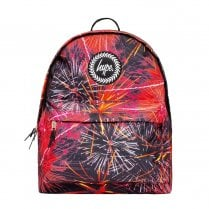 Hype Red Fireworks Backpack BTS19028