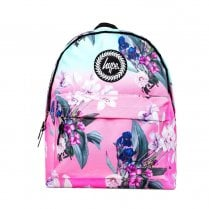 Hype Pink Mint Floral Fade Backpack BTS19039