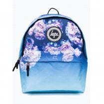 Hype Blue Multi Rose Fade Backpack AW17-389