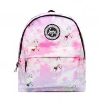 Hype Pink Unicorn Skies Backpack BTS19043